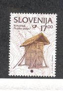 SLOVENIA 1999 Corn Storage Building 17t Definitive, Scott Catalogue No. 210A MNH - Slovenia