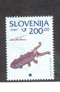 SLOVENIA 1998 Insect-shaped Bootjack 200t Definitive, Scott Catalogue No. 217 MNH - Slovenia