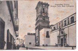 R15-344 - COPERTINO - LECCE - REAL COLLEGIATA - F.P. - VG.- A.1941 - Lecce
