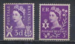 °°° UK ENGLAND - Y&T N°318/21 - 1958 MNH °°° - 1952-.... (Elisabetta II)