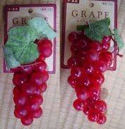 2 Artificial Wine Grapes - Creative Hobbies