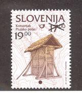 SLOVENIA 2000 Corn Storage Building 19t Over 17t Definitive; Scott Catalogue No. 371 MNH - Slovenia