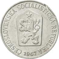 Tchécoslovaquie, 5 Haleru, 1967, TTB, Aluminium, KM:53 - Czechoslovakia