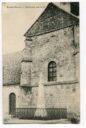 CPA 51  :  PLIVOT   église Et Monument  VOIR  DESCRIPTIF  §§§ - Autres Communes