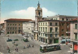 RIMINI PIAZZA TRE MARTIRI (149) BICICLETTE, FILOBUS - Rimini