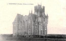 [DC10562] CPA - FRANCIA - CHANTONNAY (VENDEE) - CHATEAU DE LA MOUEE - Non Viaggiata - Old Postcard - Chantonnay
