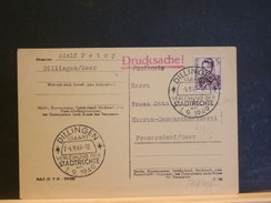 72/712   CP  1949  OBL.  DILLINGER - Covers & Documents