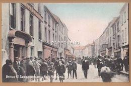 Cork SKIBBEREEN Bridge Street On A Fair Morning    Ir175 - Cork