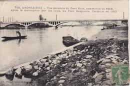 CPA  42 - ANDREZIEUX - Vue Gle Du Pont Neuf - Andrézieux-Bouthéon