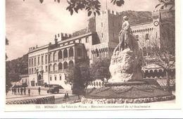 POSTAL  -MONACO  - PALACIO DEL PRÍNCIPE -MONUMENTO CONMEMORATIVO DEL 25º ANIVERSARIO - Palacio Del Príncipe