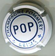 CAPSULE-CHAMPAGNE POMMERY N°107 Cuvée POP Quart Blanc & Bleu - Pomméry