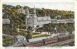 Quebec - Arrivée D'un Pèlerinage à Ste Sainte-Anne-de-Beaupré - Ste. Anne De Beaupré