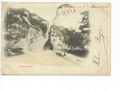 Besancon La Porte Taillee 1 Mars 1900 Carte Precurseur Carte Animée Enfant Chariot - Besancon