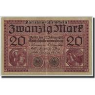 Allemagne, 20 Mark, 1918, KM:57, 1918-02-20, TB - [ 3] 1918-1933: Weimarrepubliek