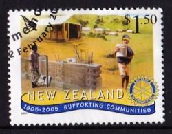 New Zealand 2005 Anniversaries Of Organisations $1.50 ROTARY Used - New Zealand