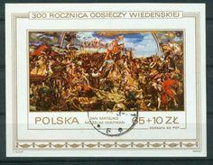 BM Polen 1983 | MiNr Block 93 (2882) | Used | Sieg über Die Türken Am Kahlenberg Bei Wien - Blocks & Sheetlets & Panes