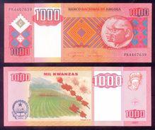 Angola 1000 Kwanzas 2011 P New Crisp UNC - Angola