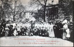 ESPERANTISME, Congrès Esperanto Anvers 1911, N°4 - Esperanto