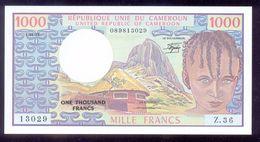 Cameroun 1000 Francs 1982 P16d Crisp UNC - Cameroon