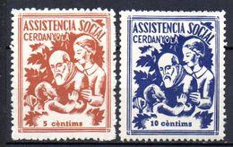 Viñetas  Nº 1/2 Assitencia Social Cerdanyola. - Viñetas De La Guerra Civil