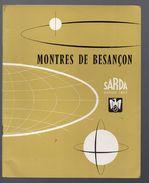 Besançon (25 Doubs) Catalogue SARDA (horlogerie) (CAT 775) - Publicités