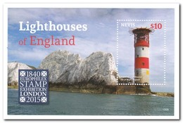 Nevis 2015, Postfris MNH, Lighthouses - St.Kitts Und Nevis ( 1983-...)
