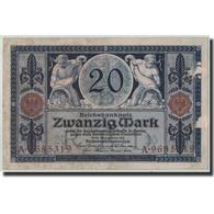Allemagne, 20 Mark, 1915, KM:63, 1915-11-04, TTB - [ 3] 1918-1933 : République De Weimar