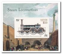 Nevis 2014, Postfris MNH, Trains - St.Kitts En Nevis ( 1983-...)