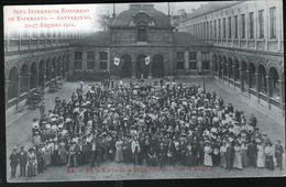 ESPERANTISME, Congrès Esperanto Anvers 1911, N°24 - Esperanto
