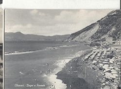 CHIAVARI, PANORAMA.VIAGGIATA-.1955-FG.46-T - Genova