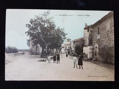 CPA D30 Comps, Sortie Du Village - Francia