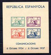 Hb  Nº 22 De Viñetas De Comunicaciones El Masnou. - Vignettes De La Guerre Civile