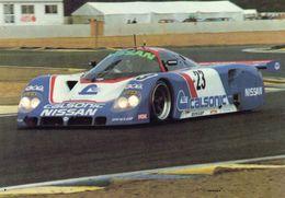 Nissan C1  -  Pilotes: Hasemi/Hoshino/Suzuki - 24 Heures Du Mans 1989 - Carte Postale - Le Mans