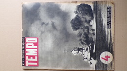 GUERRE 1939-1945- REVUE TEMPO EDITION FRANCAISE N° 1- ITALIE LYBIE-ROME-ALBANIE-AUSTRALIE-DE CHIRICO-TOFANELLI-CINEMA - Guerra 1939-45