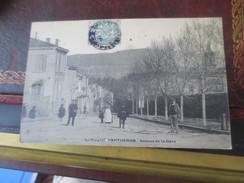 LA ROQUE D'ANTHERON - 1906 - AVENUE DE LA GARE   VOIR PHOTOS - Andere Gemeenten