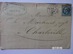 Morez Du Jura 04/06/1871 - Marcophilie (Lettres)