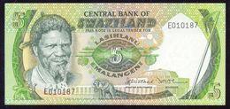 Swaziland 5 Emalangeni Signature 2 (1982) P9a UNC - Swaziland
