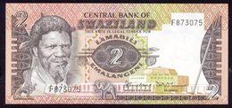 Swaziland 2 Emalangeni Signature 2 (1983) P8a UNC - Swaziland