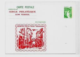 CPM Concorde Avion Aviation Non Circulé Entier Postal Toulouse Verfeil - Flugzeuge