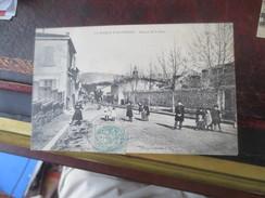 LA ROQUE D'ANTHERON- 1906- AVENUE DE LA GARE -   VOIR PHOTOS - Andere Gemeenten