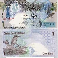 QATAR       1 Riyal        P-28       ND (2015)       UNC  [sign. Al-Thani - Al-Emadi] - Qatar