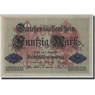 Allemagne, 50 Mark, 1914, KM:49b, 1914-08-05, TTB+ - [ 3] 1918-1933: Weimarrepubliek