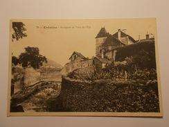 Carte Postale -  CREMIEU (38) - Remparts Et Tour De L'Est (246/130) - Crémieu