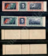1933 - Trittici Crociera Balbo (28/29) Bordo Foglio - Serie Completa - Gomma Integra (500) - Unclassified