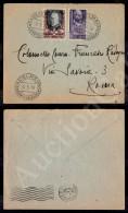 20 Lire Palladio (609) + Vignetta Gran Maestro (SMOM) - Busta Da Campobasso A Roma Del 6.5.50 - Stamps