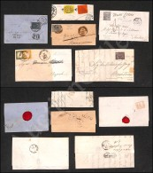 Antichi Stati - Cinque Letterine + Un Frammento - Interessante Insieme - Da Esaminare - Stamps