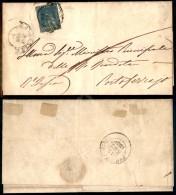 Governo Provvisorio - 2 Crazie Azzurro (13) Su Lettera Da Firenze A Portoferraio Del 12.9.59 - Oliva (1.000) - Stamps
