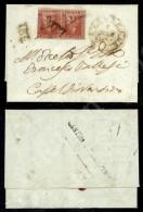 Coppia Del 1 Crazia (4) Su Letterina Da Tavarnelle (PD + Tratti A Penna) A Castel Fiorentino Del 7.3.54 (4.500) - Stamps