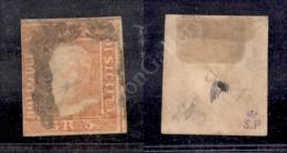 1859 - 5 Grana Rosa Vermiglio (9e - Prima Tavola) - Punti Chiari - Buoni/grandi Margini (10.000) - Stamps