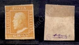 1859 - Mezzo Grano Arancio (1) Con Ottimi Margini - Nuovo Con Gomma - Forte Linguella (1.200) - Stamps